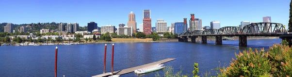 Portland Oregon Panorama. Royalty Free Stock Images
