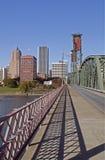 Portland Oregon river front Stock Images