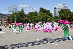 Portland Oregon rose parade. Royalty Free Stock Images
