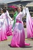 Portland Oregon rose parade. Royalty Free Stock Photo