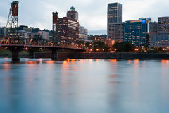 Portland, Oregon, Skyline Stock Photo