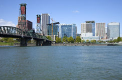 Portland Oregon skyline. Stock Images