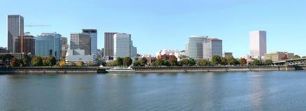 Portland Oregon skyline panorama. Stock Image