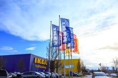 IKEA Home Furnishings Store. Located in Cascades Pkwy, Portland,. Portland, Oregon, United States - Dec 24, 2017 : IKEA Home Furnishings Store. Located in Stock Photo
