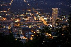 Portland Oregon USA Stock Photo
