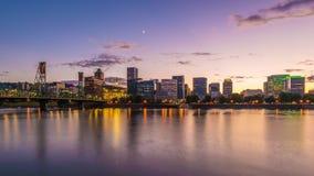 Portland, Oregon, usa linia horyzontu