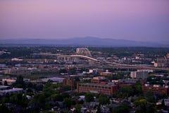 Portland Panorama Royalty Free Stock Photo