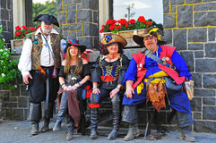 Portland OR Pirates Festival Motley Crew Stock Images