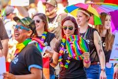 Portland Pride Parade 2018 Fotografia Stock