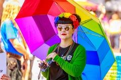 Portland Pride Parade 2018 Immagine Stock