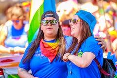 Portland Pride Parade 2018 Fotografia Stock Libera da Diritti