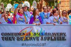 Portland Pride Parade 2016 Stock Foto