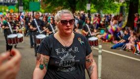 Portland Pride Parade 2017 Lizenzfreie Stockfotos