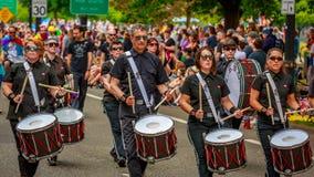 Portland Pride Parade 2017 Stockbild