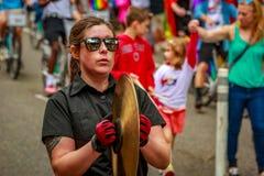 Portland Pride Parade 2017 Stockfotografie