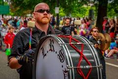 Portland Pride Parade 2017 Lizenzfreie Stockfotografie