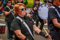 Portland Pride Parade 2017 Lizenzfreies Stockbild