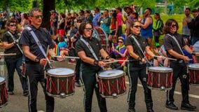 Portland Pride Parade 2017 Lizenzfreie Stockbilder