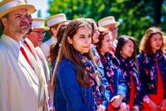 Portland Rose Festival royalty-vrije stock foto's