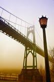 Portland's St. Johns Bridge Stock Image