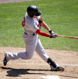 Portland Sea dogs outfielder Byrce Brentz swings Stock Photo