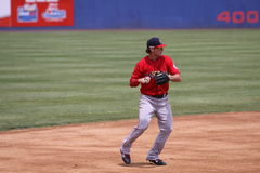 Portland Sea Dogs third baseman Will Middlebrooks Stock Photo