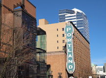 Portland sign. Royalty Free Stock Photography