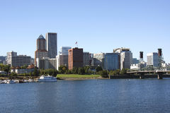Portland OR Skyline Royalty Free Stock Images