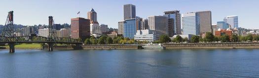 Portland OR Skyline. Stock Photos