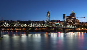 Portland Skyline Stock Photography
