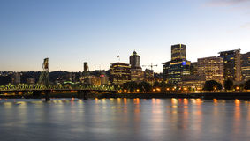 Portland Skyline Royalty Free Stock Photography