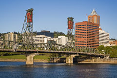 Portland Skyline Royalty Free Stock Photography