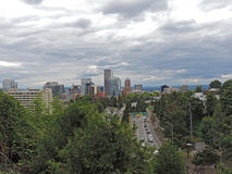Portland Skyline Royalty Free Stock Images