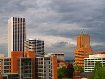 Portland Skyscrapers Stock Image