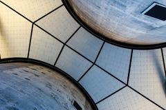 Portland står högt företags kontor under arkivfoto