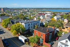 Portland stadshorisont, Maine, USA Royaltyfri Foto
