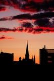 Portland-Stadtschattenbild Stockfoto