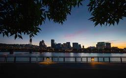 Portland-Stadtskyline Stockbilder