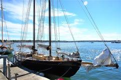 Portland state maine usa yacht trip Royalty Free Stock Photos