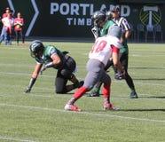 Portland State Vikings vs Western Oregon Stock Images