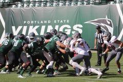 Portland State Vikings vs Western Oregon Royalty Free Stock Photography