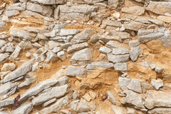 Portland stone Royalty Free Stock Image