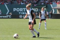 Portland taggar vs Seattle Royaltyfria Bilder