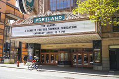 Portland Theater - Arlene Schnitzer Concert Hall - PORTLAND - OREGON - APRIL 16, 2017 Stock Photography