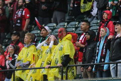Portland Thorns fans Stock Photo