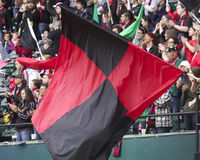 Portland Thorns flag Stock Photo