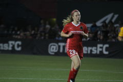 Portland Thorns soccer Stock Images