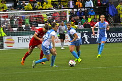 Portland Thorns vs Blue Sky Stock Photo