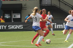 Portland Thorns vs Boston Royalty Free Stock Image
