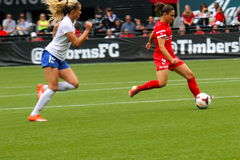 Portland Thorns vs Boston Royalty Free Stock Images